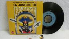 45T Générique La Justice de Goldorak LP Lionel Leroy A2 Saban Kikuchi Canestrier