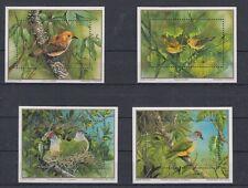 Cook Islands Block 189 - 92 Bird - Birds (MNH)