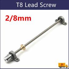 T8 Lead Screw Set Lead 28mm Coupling Mounting Bearing 1001200mm Cnc 3d Printer