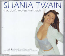 Shania Twain - That Don't Impress Me Much - CD Single Enh CD