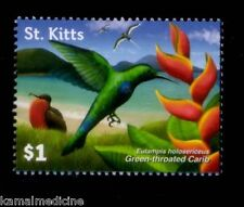 St. Kitts MNH, Green Throated Carib, Hummingbirds  Birds