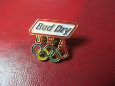Beer Pin- Bud Dry Olympic