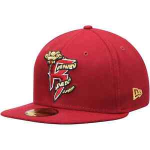 Wisconsin Timber Rattlers New Era Home Authentic Collection On-Field 59FIFTY
