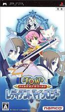 Used PSP Tales of The World: Radiant Mythology  SONY PLAYSTATION JAPAN IMPORT