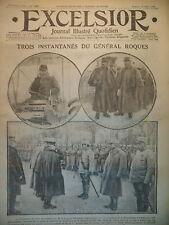 WW1 N° 1950 Gal ROQUES NAUFRAGE DE LA TUBANTIA VERDUN JOURNAL EXCELSIOR 1916