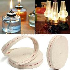 15 Feet Flat Cotton Oil Lamp Lantern Wick 20mm for Kerosene Burner Lighting