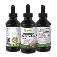 Maxx Herb - 4oz - Pau D' Arco Liquid Extract - Maxx Strength - 1 Bottle