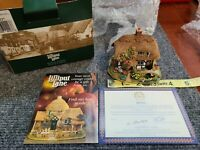 Lilliput Lane LITTLE WATER MILL 1998 #Rare Collectible Cottage With DEEDS