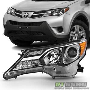 For 2013 2014 2015 Toyota RAV4 RAV-4 Headlight Headlamp Replace Left Driver Side