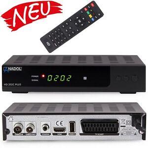 Anadol digitaler Kabel Reciever 202c Plus DVB-C C2 Full HD SCART