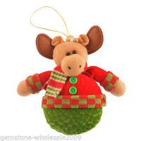1PC Reindeer Christmas Tree Decoration Xmas Supplies 16cm 50
