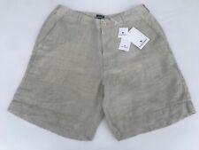 Island Company Men's Linen Short in Camel - Retail $110