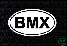 BMX STICKERS INTERNATIONAL OVAL BIKE 150MM WIDE BMX RACERS JUMPERS GT CAR o)