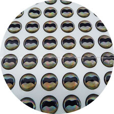 12mm Real-Wing / 250 Soft Molded 3D Holographic Fish Eyes Fly Lure