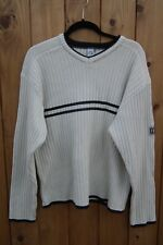 QUIK SILVER EDITION VINTAGE HEAVY KNITTED 100% JUMPER SWEATER ORGINAL SIZE L