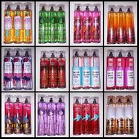 Set of 3 Bath and Body Works Spray Fine Fragrance Mist Full Size Lot Gift Set