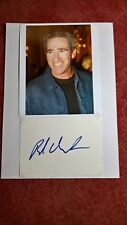 Original Autograph of Brad Gilbert, with colour photo, N.A.. DIN a4