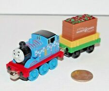 Thomas Train Tank Engine Take n Play Along Winter Festival w/ Holiday Lights Car