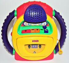 Fisher Price Kassettenrekorder Kassettenrecorder Kinder Mikrofon tragbar 2
