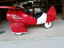 Vintage Pedal Bi-wing Plane, Excellent Condition, Sold As Is, No Returns Or.