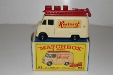 MATCHBOX LESNEY #62B COMMER TV SERVICE VAN, RENTASET, NICE, BOXED TYPE E