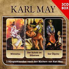 3 CDs * KARL MAY HÖRSPIELKLASSIKER - 3-CD HÖRSPIEL BOX # NEU OVP !