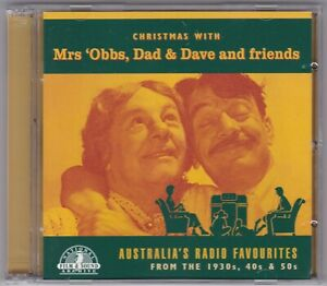Christmas With Mrs 'Obbs, Dad & Dave And Friends - CD 2 x CD Radio Plays CM0001)