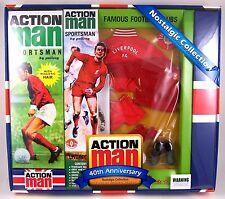 "Action Man 40th Ann  Liverpool Footballer Set  (Includes figure) 12"" GI Joe"