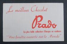 BUVARD Chocolat PRADO collection d'image en couleurs Blotter Löscher