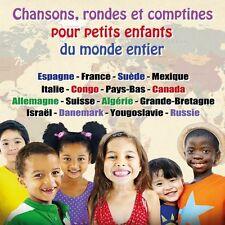 CD Chansons, rondes et comptines pour petits enfants du monde entier