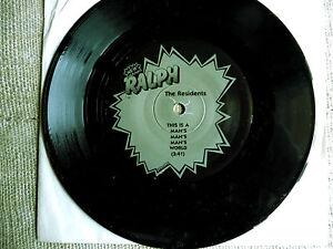 The Residents – The Black Single Etichetta: Ralph Records – RZ8422 F- 45 giri