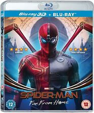 Spider-Man Far From Home 3D + 2D Blu-Ray BRAND NEW Free Ship