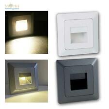 LED Wand-Einbaustrahler Serie MILOS, 230V Leuchte / Lampe für UP-Schalter-Dose