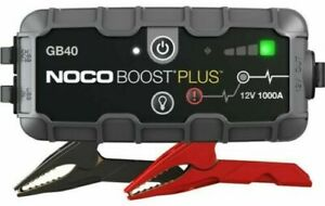 NOCO GB40 Genius Boost Plus 1000 Amp 12v New updated version Thin clamps