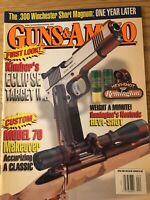 Guns & Ammo April 2002, .300 Win. Short Magnum, Kimbers Eclipse Target 2