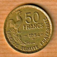 50 FRANCS 1954 B Guiraud - Beaumont-Le-Roger FRANCE F.425/13 - SPL