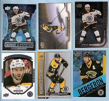 2015-16 Upper Deck Clear Cut Superstars Patrice Bergeron (4 inserts Tim Horton's