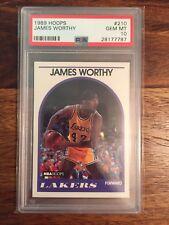 1989 Hoops James Worthy Lakers PSA 10 Pop 15