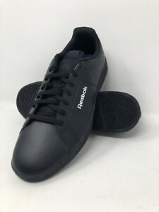 Reebok Royal Rally Mens Sneakers Black Size 11.5 Casual Shoes BS7173 NWT
