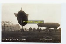 Army Airships Delta & Gamma Ii Photograph 6x4 Rp01361