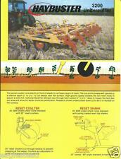 Farm Implement Brochure - Haybuster - 3200 - Undercutter - c1990 (F3920)