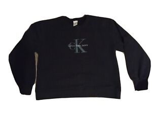 Calvin Klein Navy Womens Sweatshirt XL