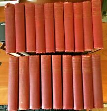 19 Vol Plate Signed Authors National Edition The Writings of Mark Twain 1901 -GC