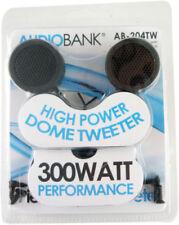New listing AudioBank 300 Watt Car 1 Inch Round Tweeter Pair Multiple Mounting Options