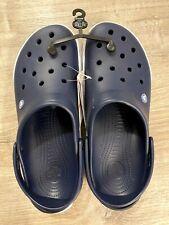 Crocs Crocband II Navy Blue White Clog Men's Size 13