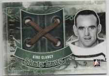 ITG SL-07 Superlative Vol 3 GAME USED GOLD KING CLANCY SKATE LACE 1/1 1 of 1 WOW