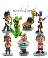 Disney Captain Jake and The Never Land Pirates 7 pcs Figure Toy Set Cake Topper