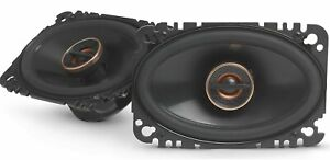 "AUTHENTIC Infinity REF-6432CFX  4x6"" 2 Way Car Audio Speakers (PAIR) 2 DAY SHIP"