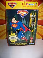 Superman The Animated Series Sticker Book + Stickers Panini Skybox JLU BTAS