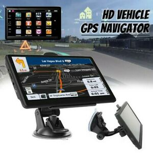 8G 256MB Car Truck Sat Nav GPS Navigation 7'' Free Lifetime EU Maps Touch Screen